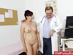 Madam gyno in addition to a redhead bitch tube porn video