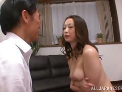 Japanese Mature, Asian, Blowjob, Couple, Cowgirl, Doggystyle
