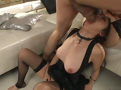 Two lusty babes are parceling out that lucky impoverish