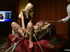 Holly Heart gets say no to vag toyed and enjoys some tortures