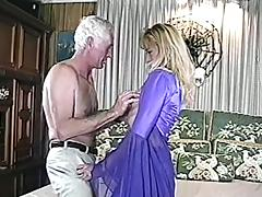 Amateur unreserved in stockings coupled with clothing gets fucked at the end of one's tether grey dude