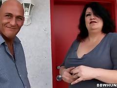 Mom and Boy, BBW, Big Tits, Boobs, Chubby, Chunky