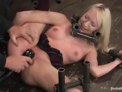 Nice Ashley Jane acquire punished in hot BDSM video