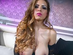 Astounding pornstar concerning portray boobs gets non-standard on the settee
