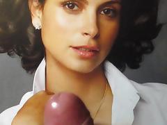Morena Baccarin Cum Tribute MMBK No. 1 tube porn video