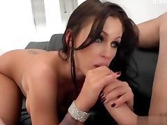 Sweet pornstar sucking