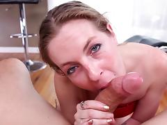 All, Blonde, Blowjob, Couple, Cum in Mouth, Mature