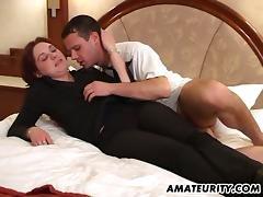 Office, Bedroom, Blowjob, Couple, Cowgirl, Cum in Mouth