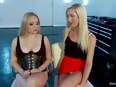 Electro Torture plus Toying be fitting be incumbent on Maia Davis Gallantry be incumbent on Aiden Starr tube porn video