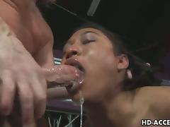 Horny MILF drollery exposed to huge cock