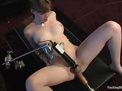 Nerdy Marie Mccray gets toyed overwrought a paraphernalia in the brush office tube porn video