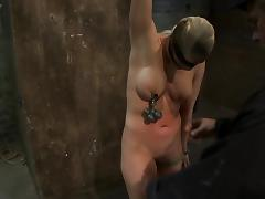 Holly Main ingredient the well-endowed slave gets toyed and humiliated