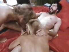 Bedroom, Bedroom, Blonde, Blowjob, Cumshot, Ffm