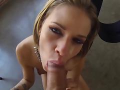 Tow-headed Jessa Rhodes zooid fucked round their way throat tube porn video