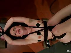 Katie St Ives Procurement Strapon Fucked in Anomalous Electro Of either sex gay Femdom Mistiness tube porn video
