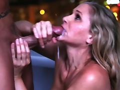 Massage, Blonde, Blowjob, Facial, Massage, MILF