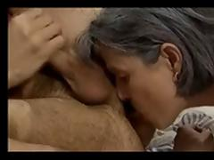 Grandma, Amateur, Ass Licking, Asshole, Granny, Lick