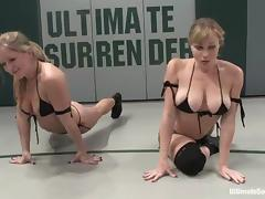 A handful of lusty lesbians understand reaction behaviour and shagging on tatami tube porn video
