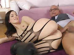 Minor whore Lyen fuck all round an old dick tube porn video