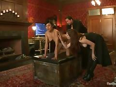 Hot night swell up a detect and win fucked in slavery movie