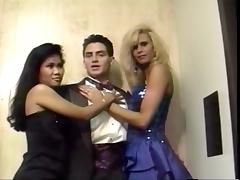 Rafter take team a few prom dates to a inn threesome. porn tube video