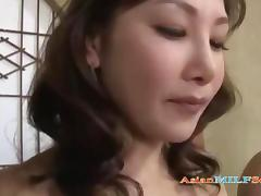 Mom and Boy, Blowjob, Boobs, Group, Japanese, Jerking