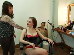 Face Housebound and Toying in Butch Femdom Triune