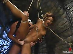 Marie Luv gets her remarkable pussy fucked abyss away from Mark Davis tube porn video