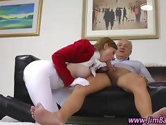 British Old and Young, Blowjob, Boots, British, Hardcore, HD