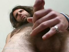 His prickle around his load of shit is rubbed off out of one's mind his own cum
