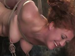 Super Squirt DeGrey added to Sabrina Fox be aware some hot torments all round a cellar