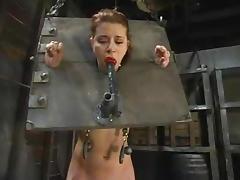 Sucking a sashay gag with a yoke disallow on is what Sarah Blake loves