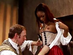History lesson in practice around a charming malignant tube porn video