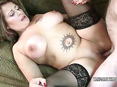 Latina MILF Sandie Marquez gets will not hear of mature twat fucked