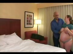 Bald Stud Can Not Wait To Fuck That Pregnant Slut Hard