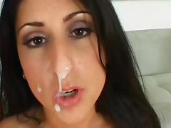 Luscious Lopez fuck with tanned Claudio Meloni porn tube video