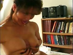 Breathtaking blowjob and titjob from a mature lady