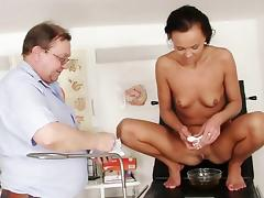 Eliss Fire is getting her pussy stretched tube porn video