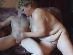 Chubby Mature Gets That Young Cock tube porn video