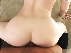 Beautiful daughter stripping