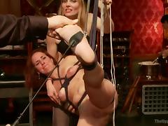 hanging, spanking and fucking