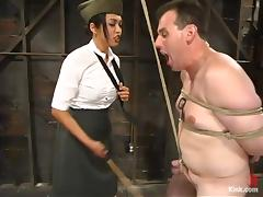 The hardest interrogations with a charming military bitch Mika Tan porn tube video