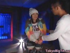 Azusa Nagasawa Nice Asian teen is fucked