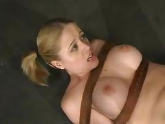 Choking, BDSM, Blonde, Bondage, Choking, Gagging
