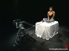 DragonLily enjoys the best DP in her life with a fucking machine