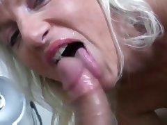 Aged, Aged, Blonde, Blowjob, Mature, Sex