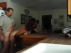guy fucks his wife in the kit