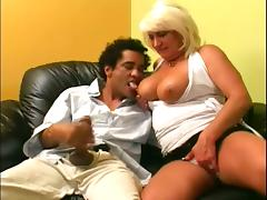 Sizzling mature Dana Hayes is pleasing that mexican dude
