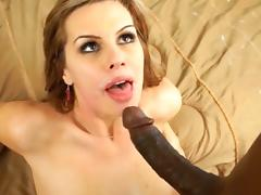 Babysitter tara lynn fox enjoys black cock