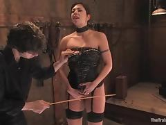 Slutty Satine Phoenix gets whipped and pounded tube porn video